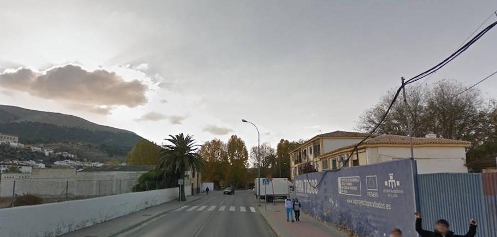 Herida una mujer de 79 años en Loja tras ser atropellada por un turismo en un paso de cebra