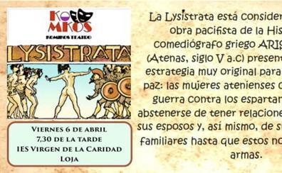 Llega a Loja 'Lysístrata', una comedia de teatro clásico pacifista y feminista