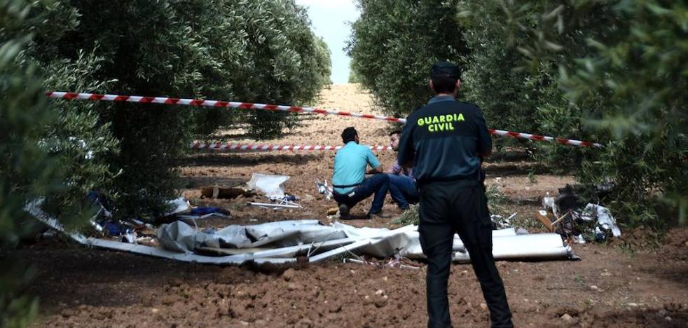 Un fallecido y un herido en un accidente en el aeródromo de Cuesta de la Palma de Loja