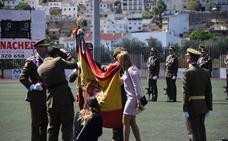El MADOC celebra su día en Loja con una jura de bandera civil