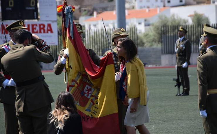 Jura de bandera civil en Loja