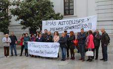 La plataforma ciudadana por el transporte público exige la vuelta a la situación previa al metro de Granada