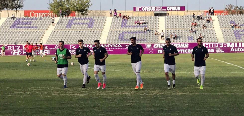 El Real Jaén logra la primera victoria de la temporada