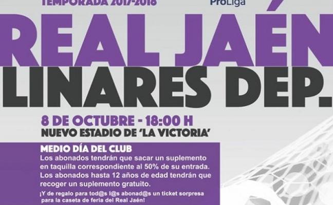 Polémica por el precio de las entradas del Real Jaén-Linares