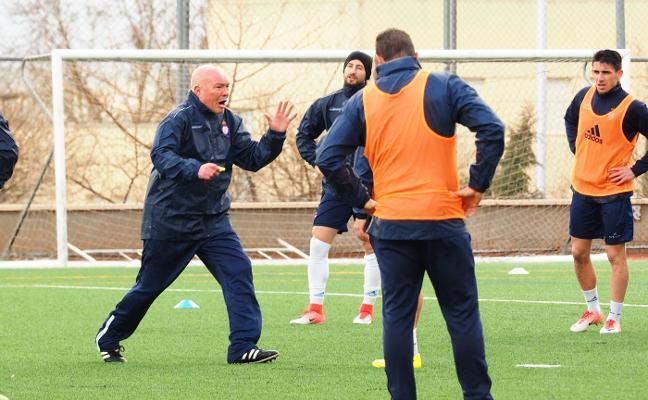 «Se conseguirá el objetivo de jugar el play off, pero toca hablar menos y trabajar más»