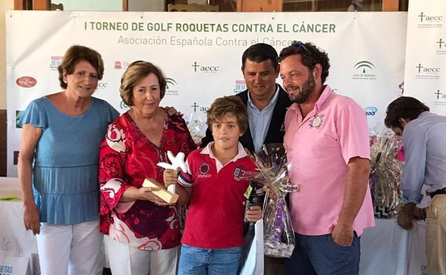 Cien jugadores en Playa Serena para combatir el cáncer