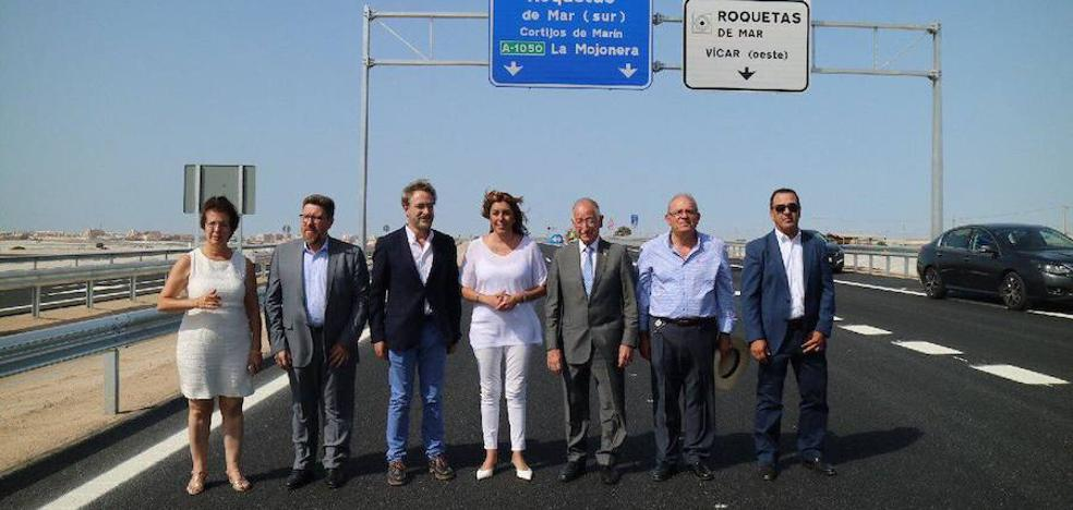 Susana Díaz destaca la apuesta de la Junta por la provincia en la presentación del tramo de variante hasta Cortijos de Marín