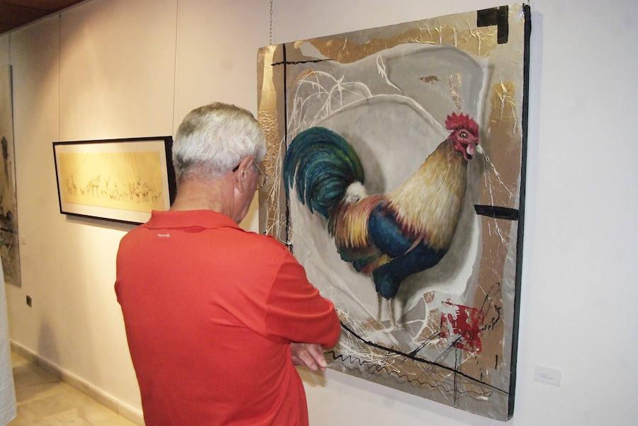 El Castillo de Santa Ana acoge la exposición 'Animalarium' que recoge la obra de cuatro artistas