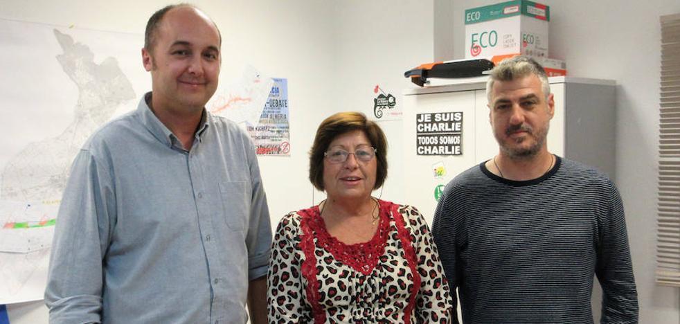 La jubilación de Encarna Moreno trae cambios en el Grupo de Izquierda Unida
