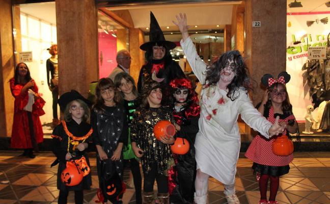 El centro acoge hoy las celebraciones de la fiesta de Halloween