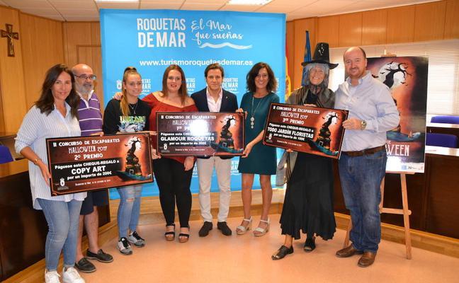 Glamour Roquetas ganó el segundo concurso de escaparates de Halloween