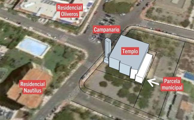 IU defiende el uso público de la parcela de la iglesia de la Urbanización de Aguadulce