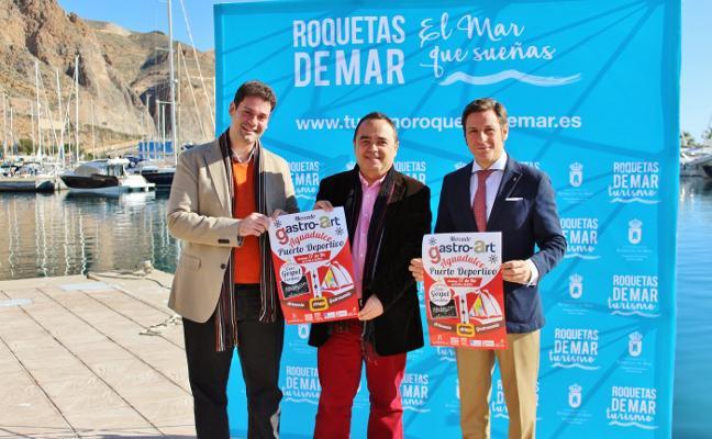 El puerto deportivo de Aguadulce acoge el domingo una nueva edición de Gastro-Art