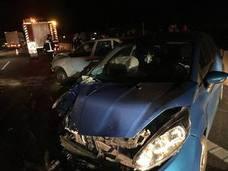Una colisión entre dos vehículos en la Autovía A-7 deja un herido