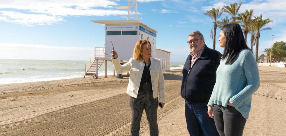El PSOE exige «soluciones definitivas» contra la pérdida de arena en las playas
