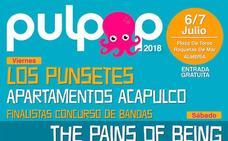 El Pulpop 2018 ya tiene cartel y se celebrará el 6 y 7 de julio en la Plaza de Toros