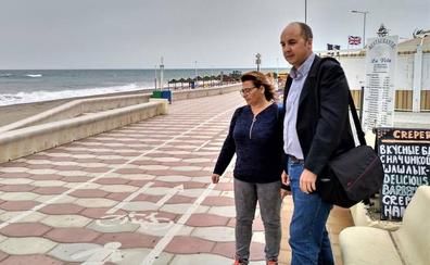 IU pide estudiar los problemas del carril bici y la seguridad peatonal del paseo de la Urba