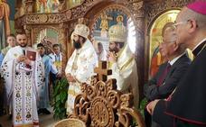 Consagrada en Roquetas la primera iglesia ortodoxa rumana de nueva planta de España