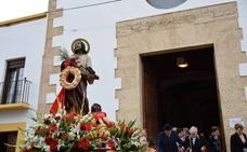 San Marcos procesionó por las calles de Roquetas