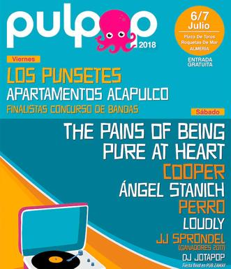 Norek, The Yellow Melodies y Don Gonzalo se suman al cartel definitivo del Pulpop Festival 2018