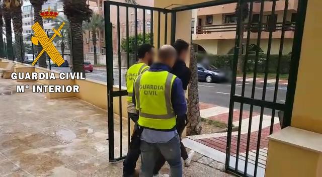 Detenido por un robo con violencia en Aguadulce