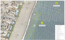 Las playas de Roquetas tendrán este verano dos canales de nado en Aguadulce y La Romanilla