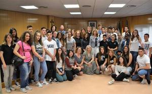 Intercambio en el IES Algazul con estudiantes de Francia, Portugal y Grecia