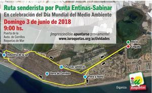 IU celebrará el Día de Medio Ambiente con una ruta por Punta Entinas