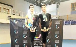 Adrián Munuera se proclama campeón de Andalucía de gimnasia rítmica