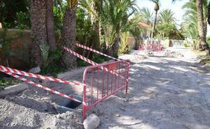 Paran las obras de la avenida de Torrequebrada por no contar con un arqueólogo supervisor