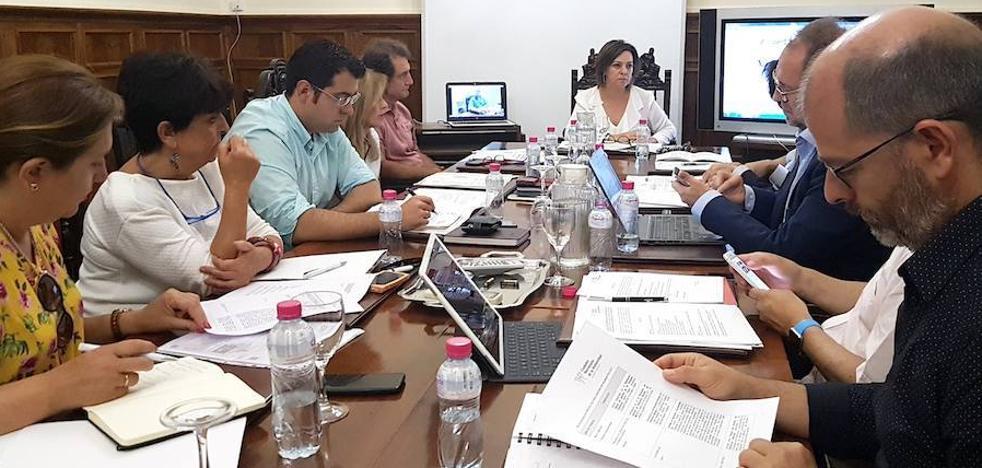 Reunión en Úbeda de la comisión de patrimonio y ciudad del Grupo de Ciudades Patrimonio de la Humanidad
