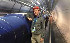 Un profesor de Úbeda en las instalaciones del CERN en Ginebra