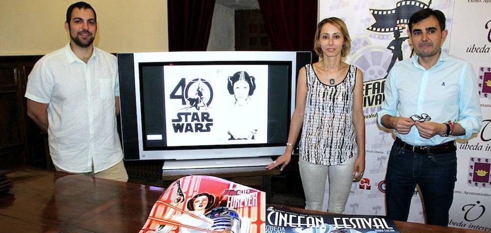 Personajes del cine y la televisión tomarán Úbeda durante el quinto Cinefan Festival