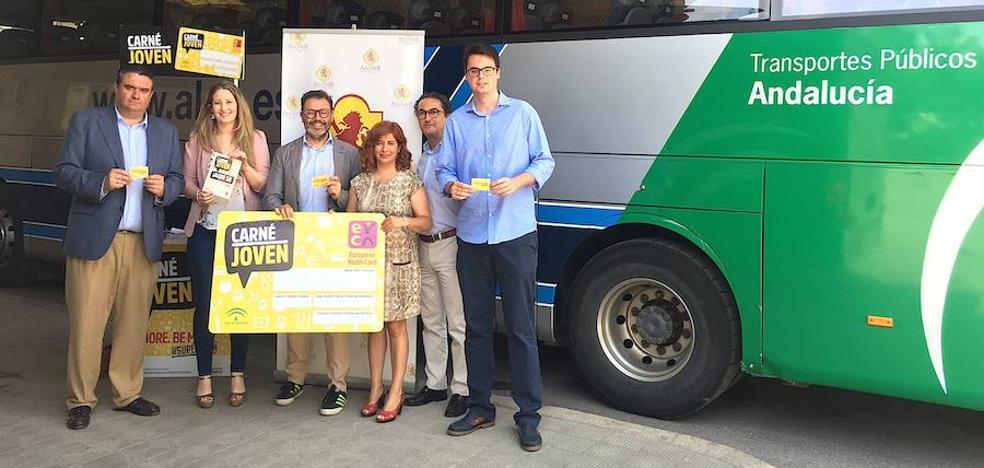Los usuarios del Carné Joven tendrán descuentos en los autobuses Alsa para trayectos en la provincia