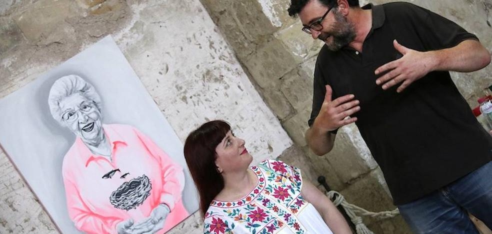 Un mes pintando en San Lorenzo
