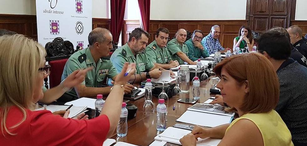 Úbeda y Baeza acuerdan medidas para reforzar la seguridad frente a posibles atentados