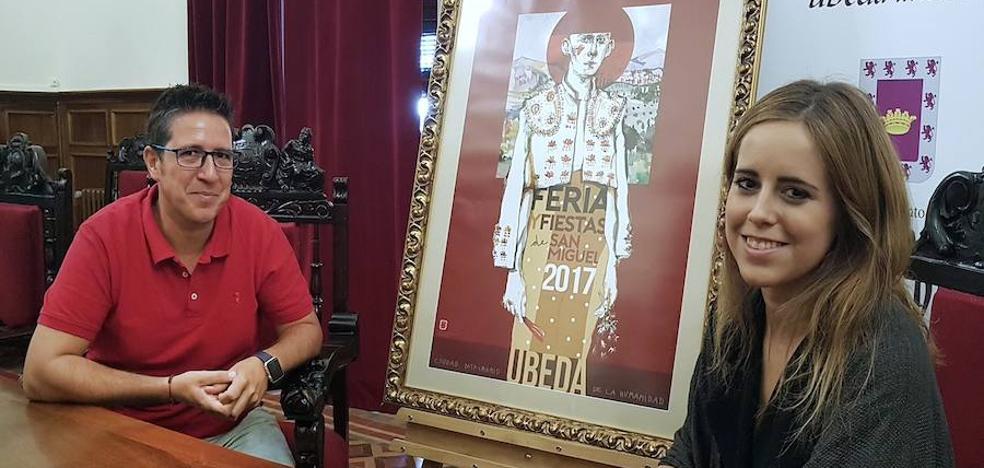 La diseñadora de moda e ilustradora Tíscar Espadas firma el cartel de la Feria de San Miguel