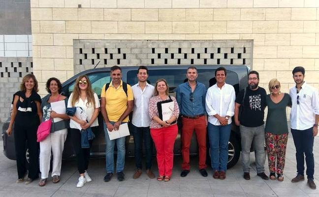 Una ubetense entre los blogueros y periodistas que realizan un 'viaje con sabor' por Andalucía