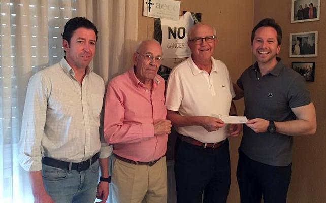 14.000 euros de la Gala Jaén Solidaria para la Asociación Española Contra el Cáncer