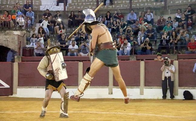Actividades en torno a los gladiadores y al amor en la antigua Roma