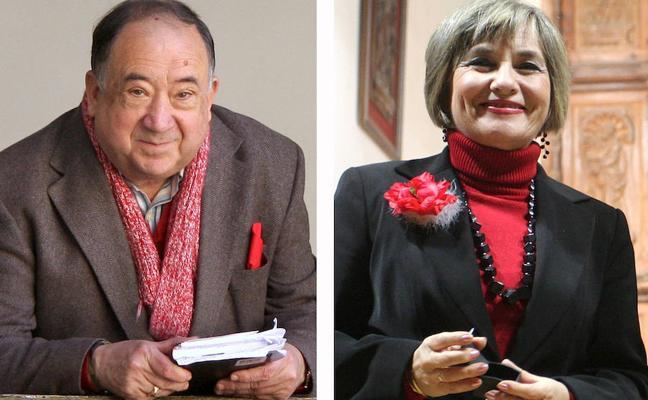 Eduardo Jiménez y Adela Tarifa, premiados por la Casa de Jaén en Granada