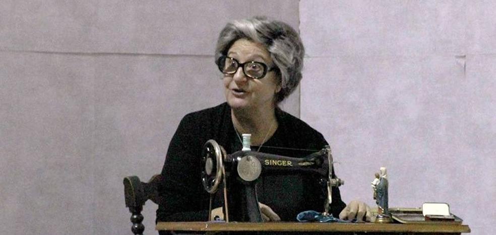 Rosario Pardo revivió en San Lorenzo 'Los días de la nieve' de Josefina Manresa