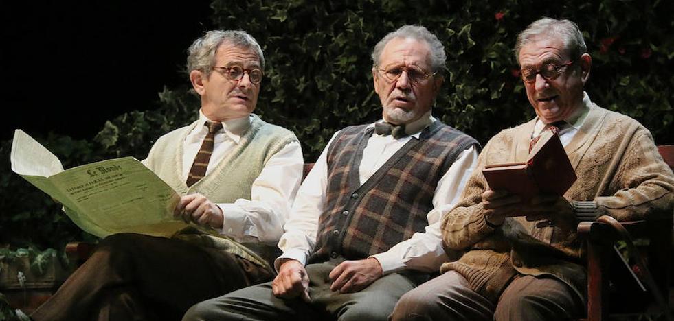 Gran velada teatral en compañía de tres 'Héroes' de la escena española
