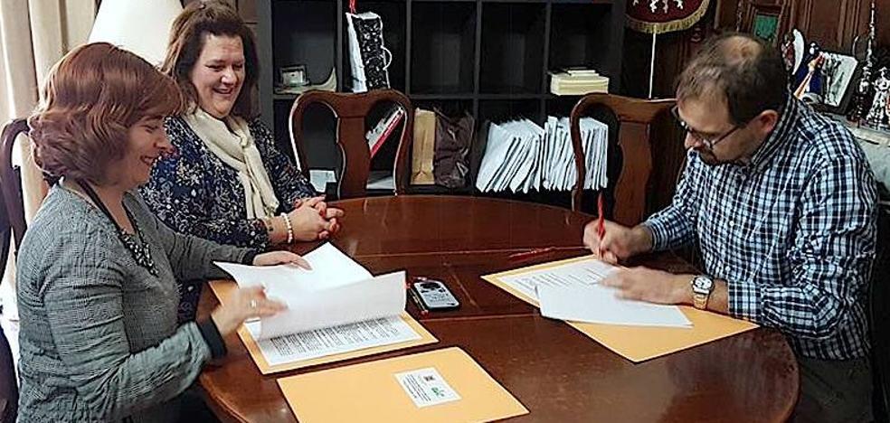 El Ayuntamiento formaliza su colaboración con la Fundación Antonio Gutiérrez Medina