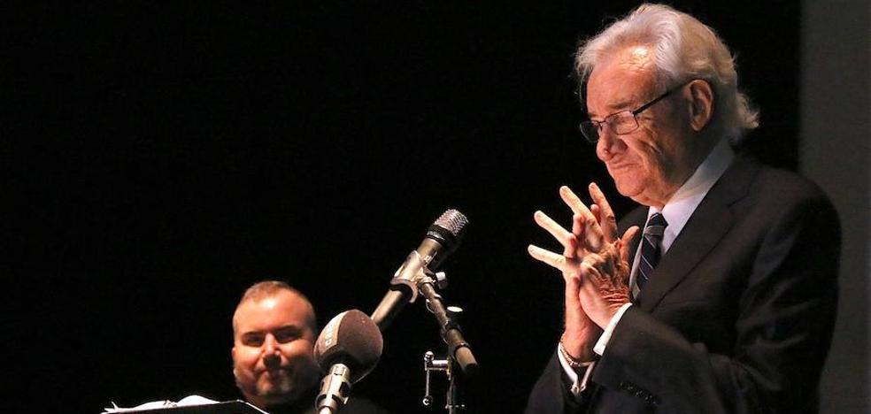 Luis del Olmo participó en un homenaje a Paloma Gómez Borrero