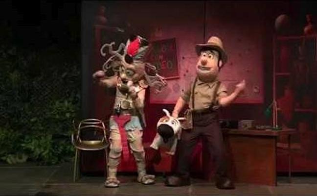 La programación navideña incluirá el musical sobre las aventuras de Tadeo Jones