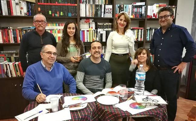 El profesor y poeta Manuel Molina impartió en Úbeda un taller de 'haikus'