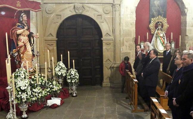 Multitudinario recibimiento a María Santísima de la Concepción