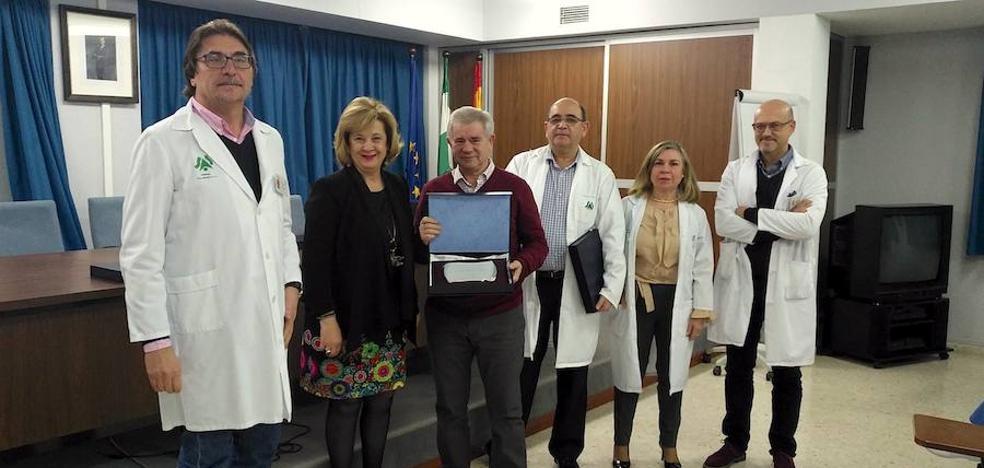 Homenaje a 37 profesionales sanitarios del hospital de Úbeda