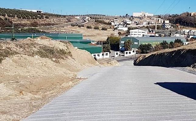 Abierto al tránsito el camino del Cerro de la Horca tras su mejora